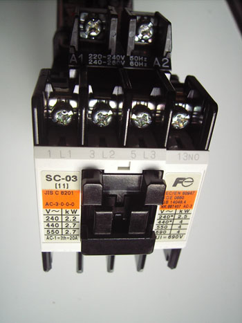 1 Pole Magnetic Contactor Wiring Wiring Diagram