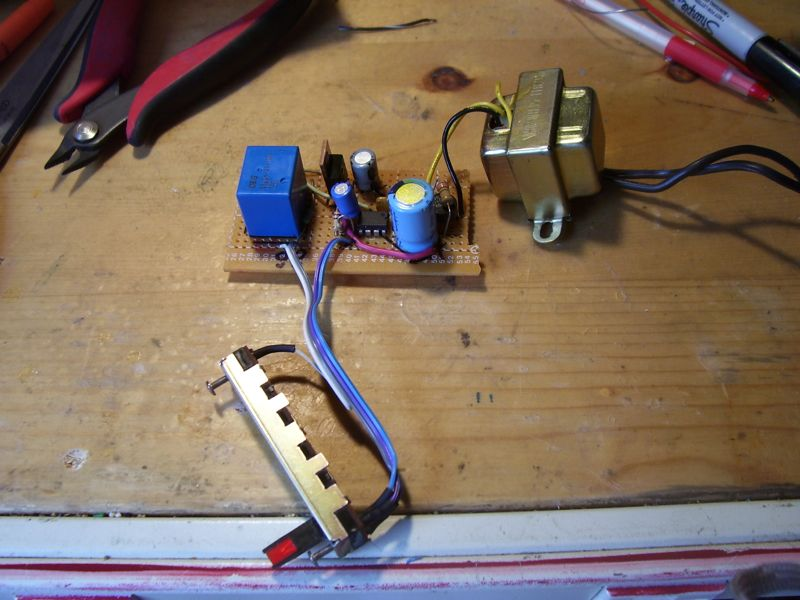 AC outlet timer circuit