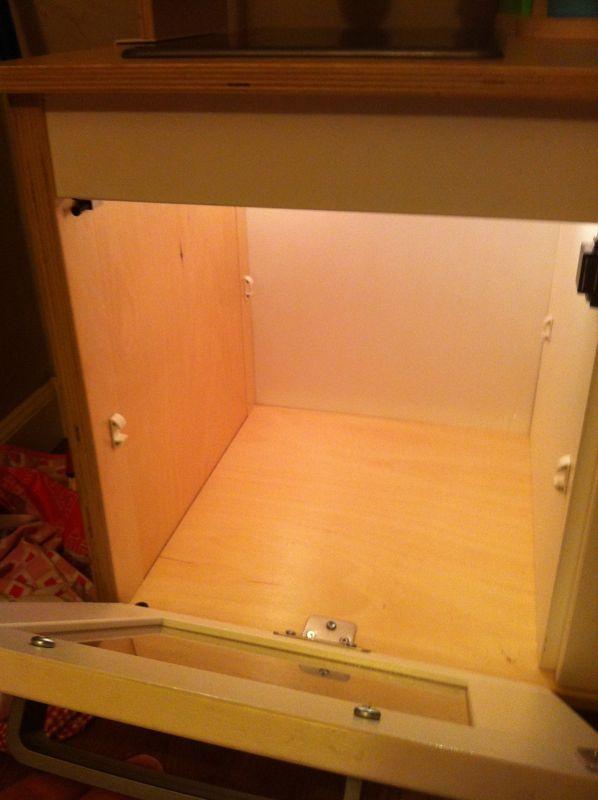 IKEA mini-kitchen mods