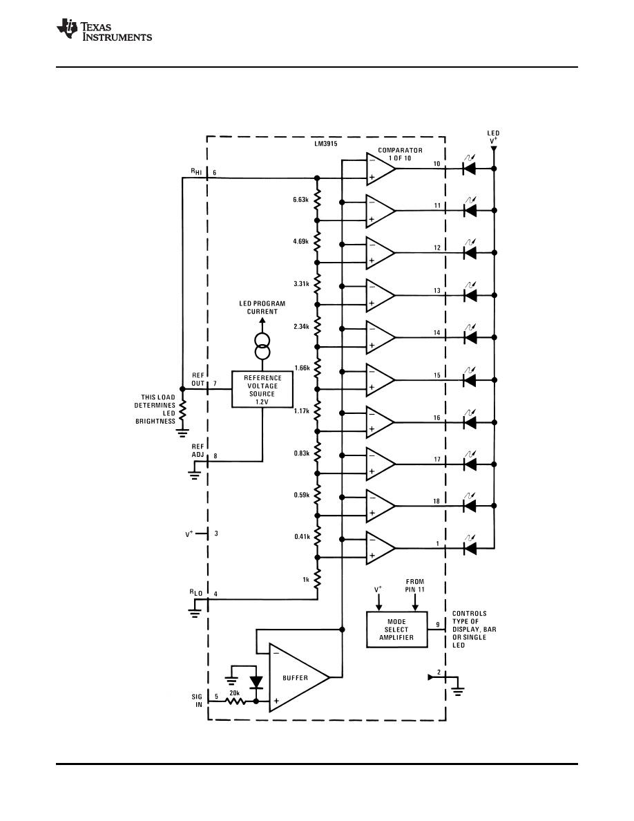 lm3915 datasheet
