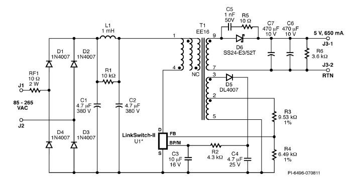 schematic battery charger