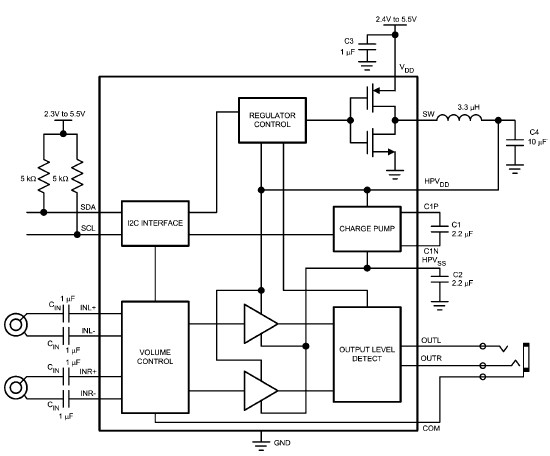 dual audio amplifier circuit using lm4940 integrated circuit