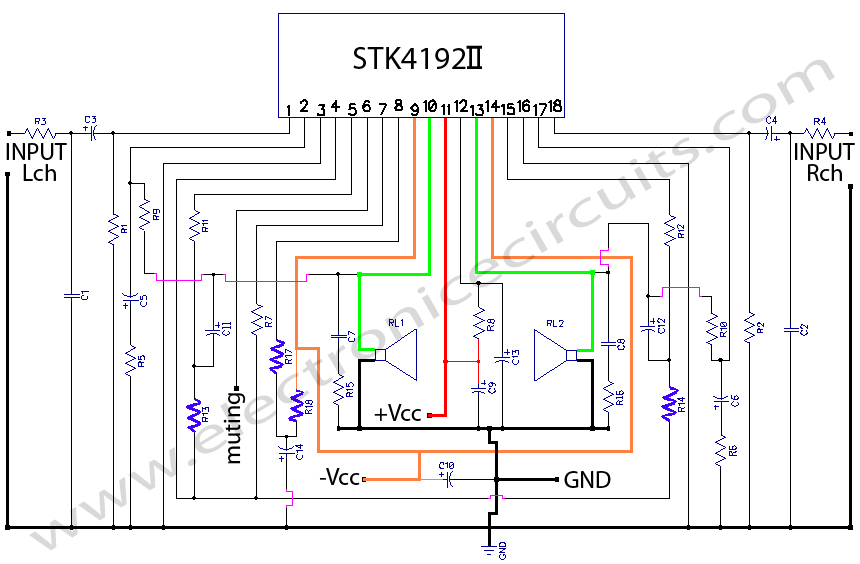 do it by self with wiring diagram Stk4141 Amplifier Circuit Diagram