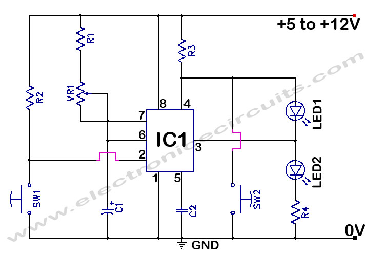 Electronic Circuits Projects And Circuit Diagrams Motor - 1515