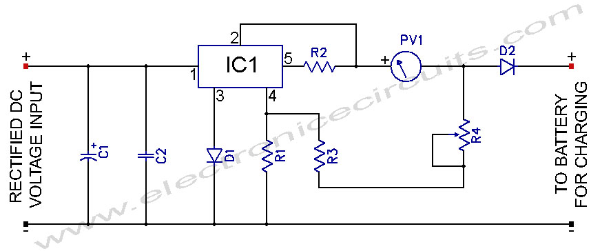Great Circuit Diagram Of Battery Charger 12 Volts Pictures