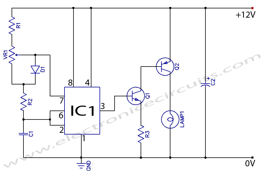 Electronic Lamp Dimmer Circuit 12v Light Dimmer Circuit manual
