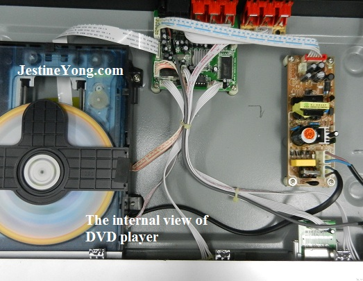 sansui dvd player repaired