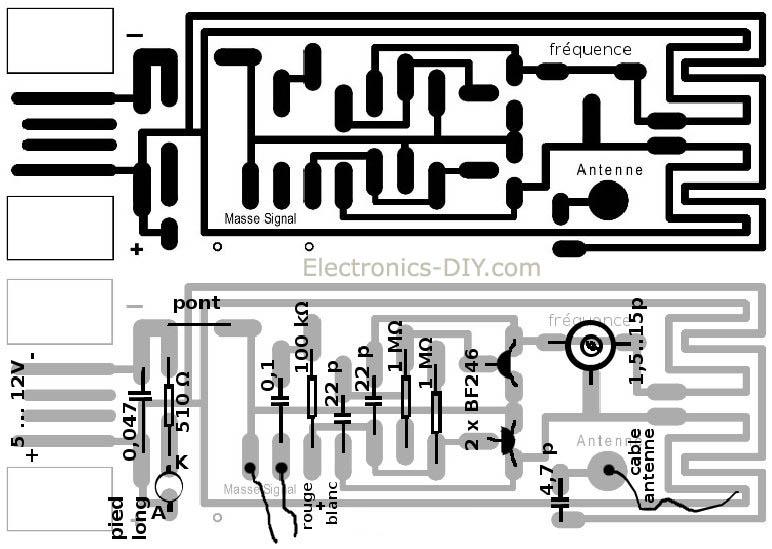 tv circuit board parts