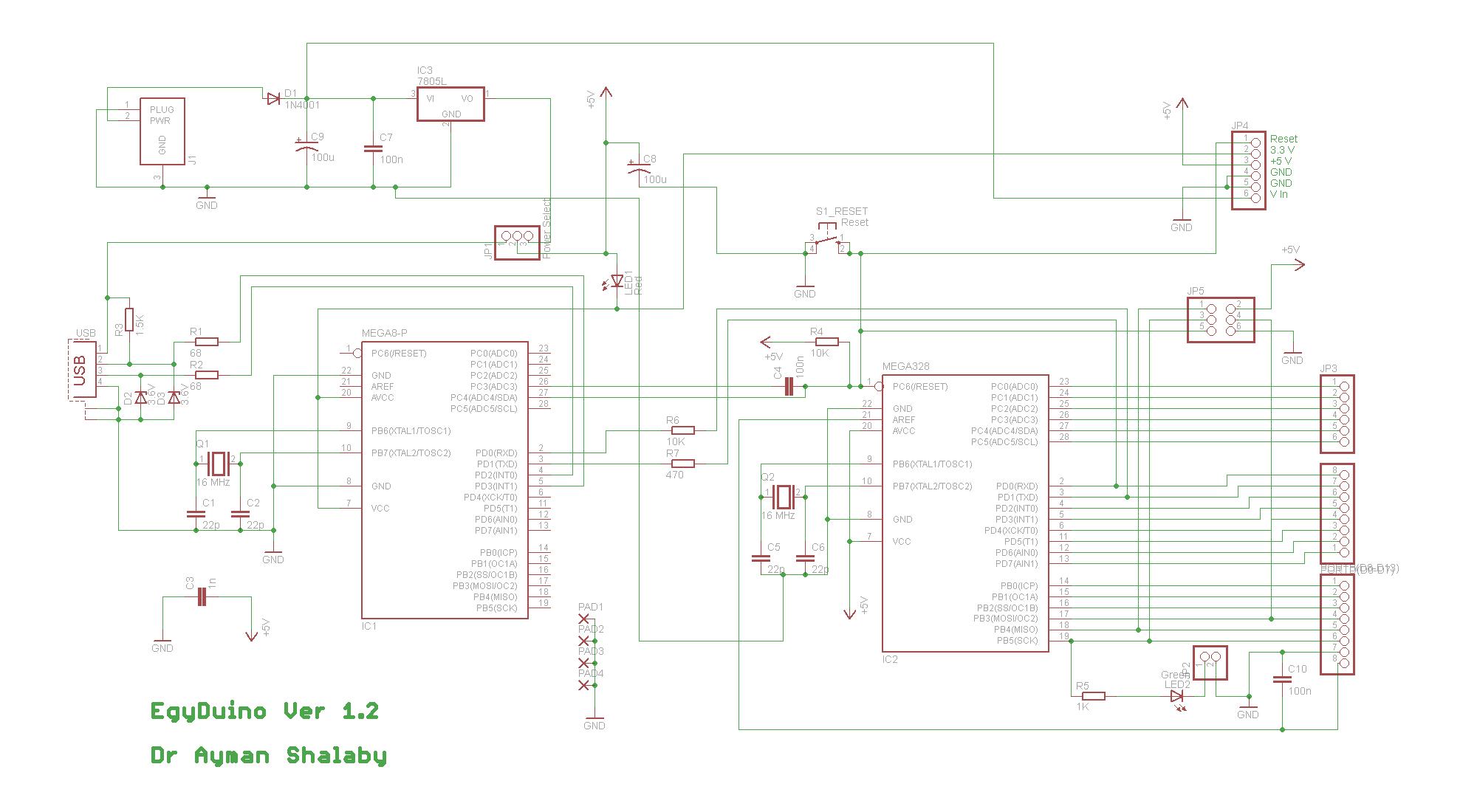 egyduino 8211 arduino compatible board