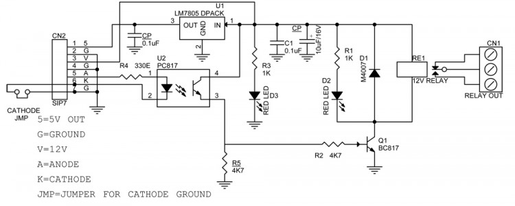 high current relay board