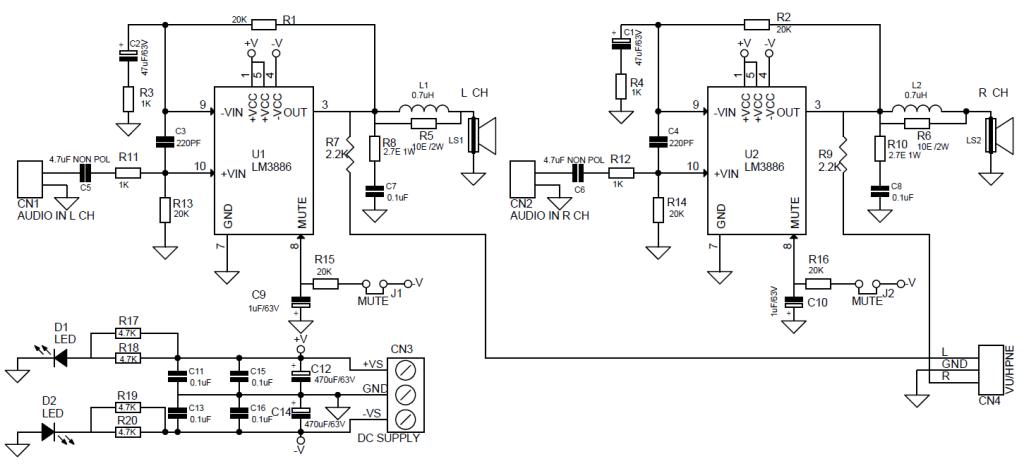 lm3886 amplifier