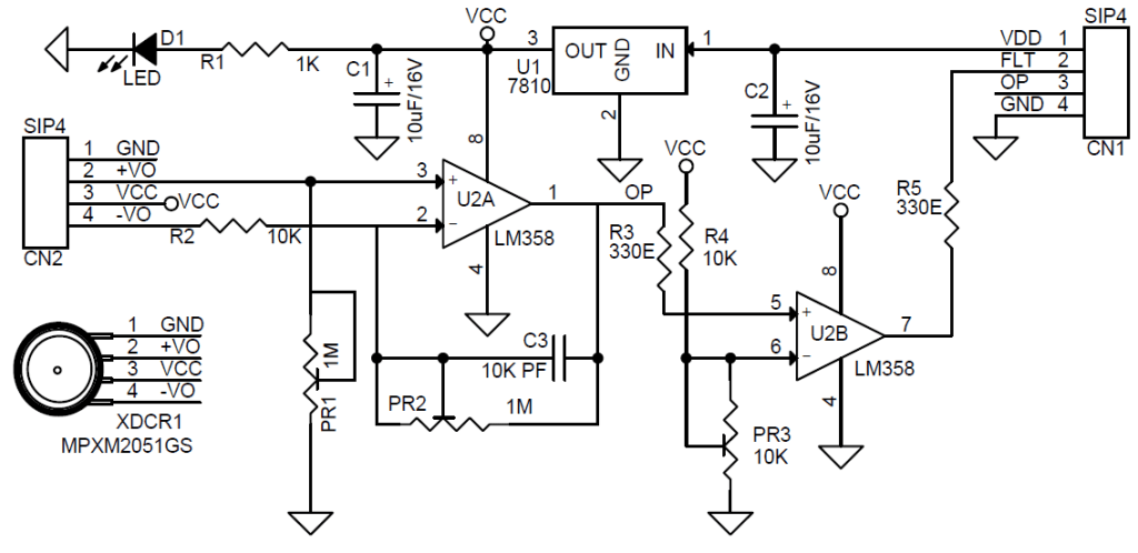 simple relay schematic