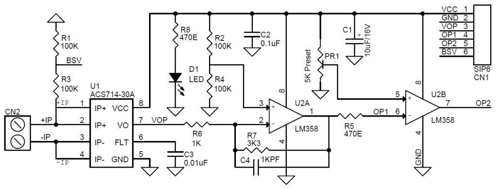 current sensor switch circuit gadgetronicx