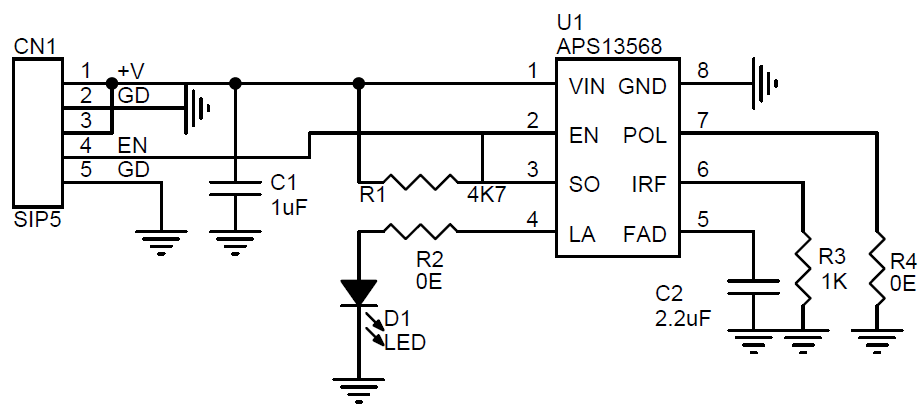 led fade circuit