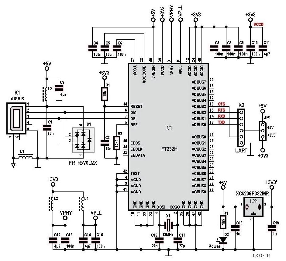 ftdi cable schematic
