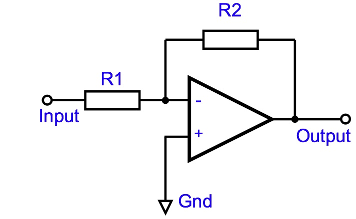block diagram of operational amplifier opamp