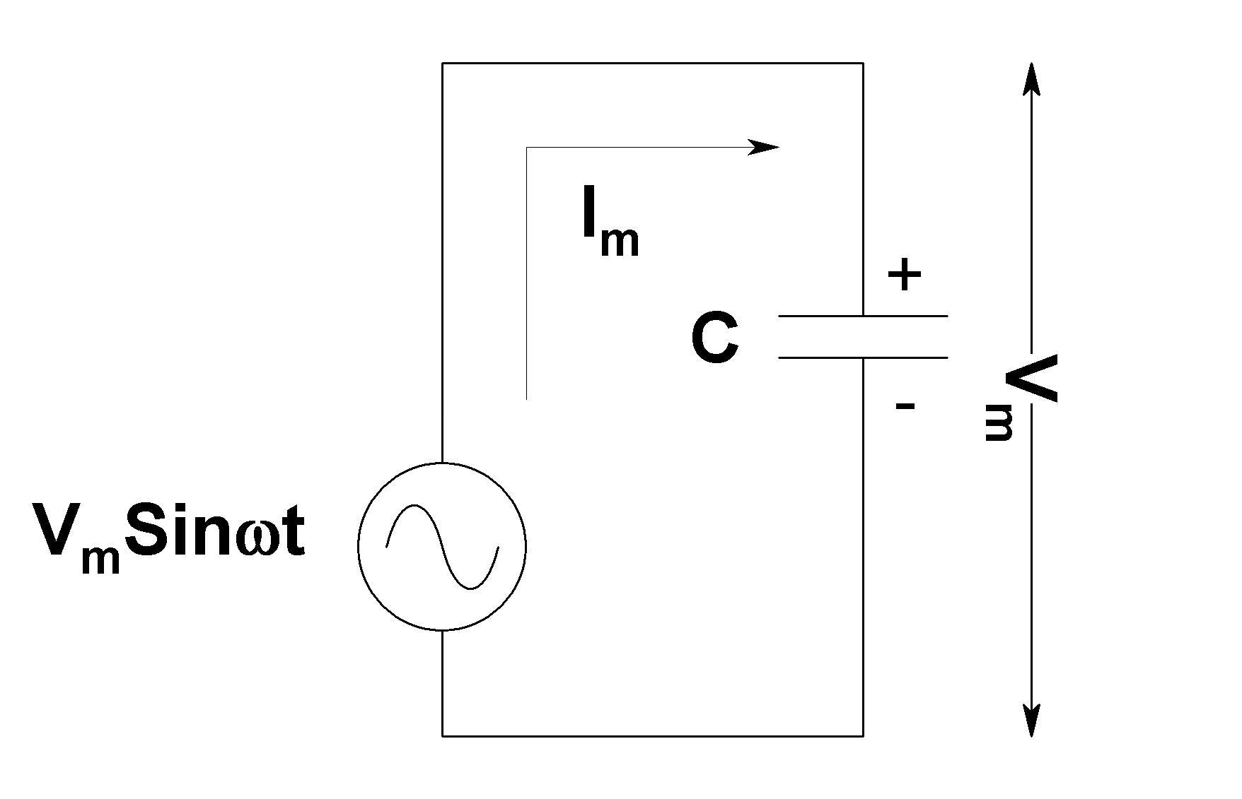ac capacitance capacitive reactance electronics