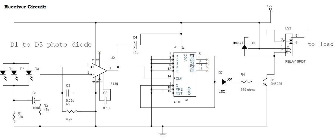 Infrared Controls Wiring Diagram Wiring Schematic Diagram