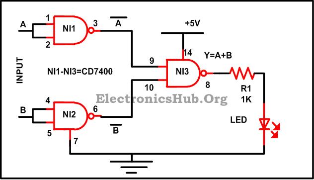 Circuit Diagram Nand Gate Wiring Diagram