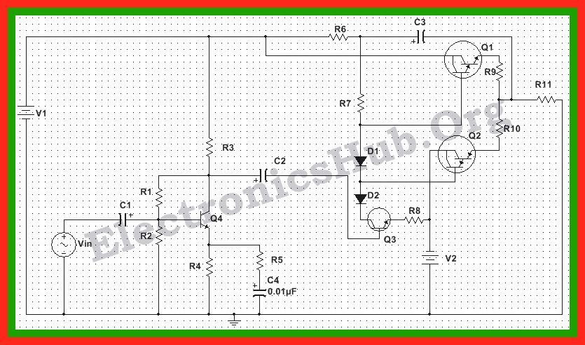150 Watt Power Amplifier Circuit Diagram, Working and Applications