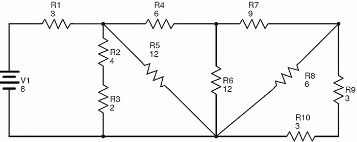 complex circuit diagram problems