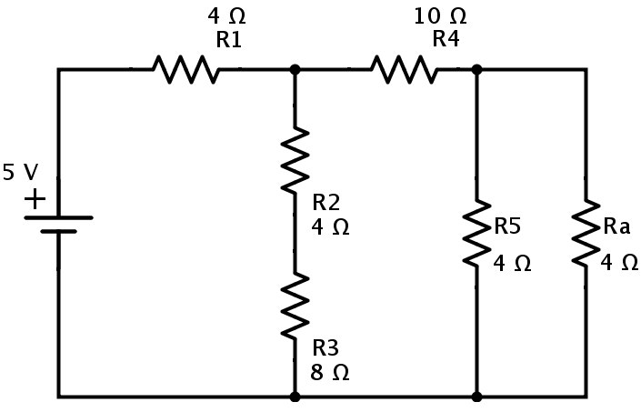 resistors in series and parallel circuit