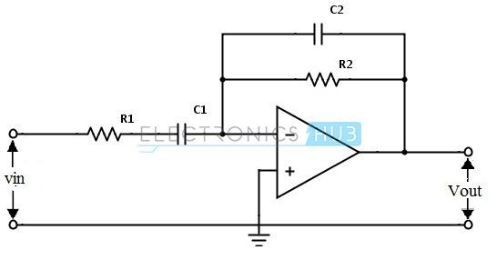 band pass filter diagram