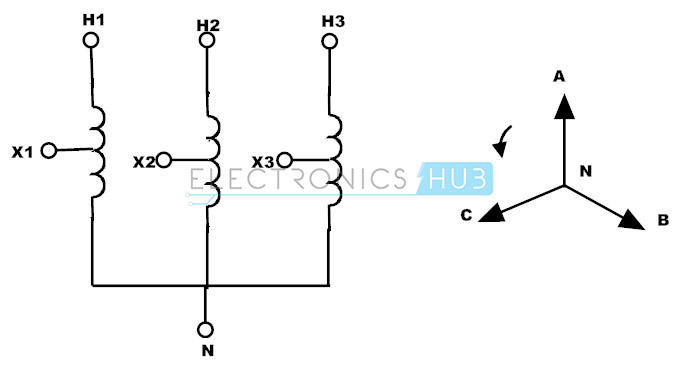 variable transformer diagram
