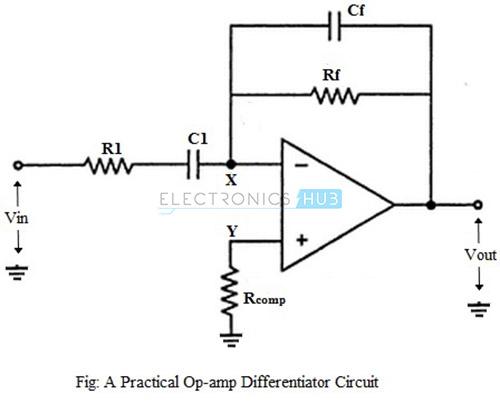 op amp gain circuit
