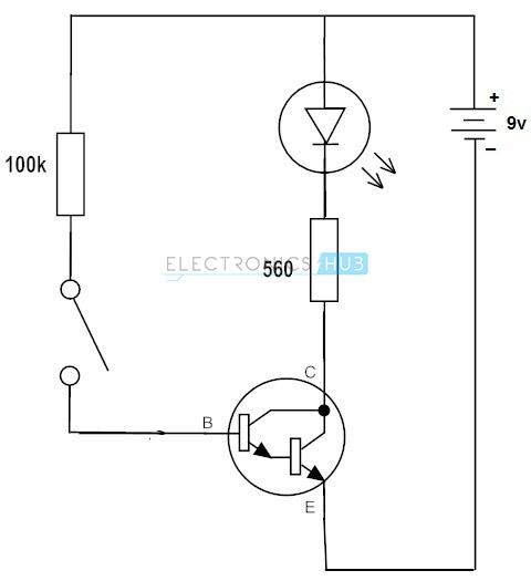 working of npn transistor amplifier