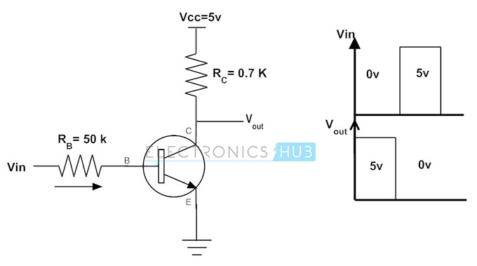 transistor switching circuit design