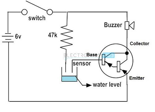 circuit diagram with pnp transistor