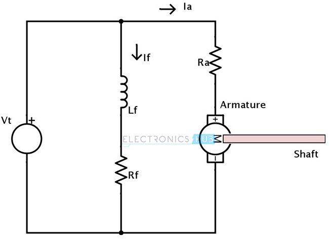 Parallel Dc Motor Diagram Wiring Diagram