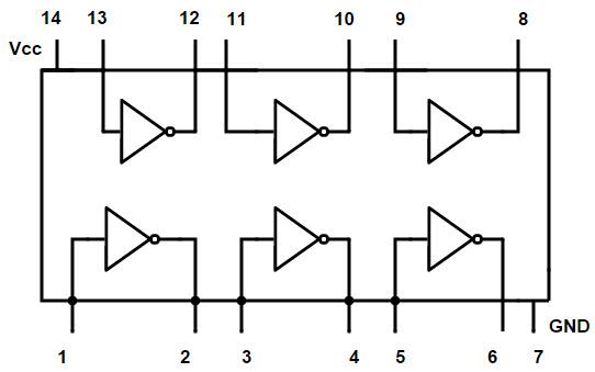 Logic Diagram Not Gate Wiring Diagram