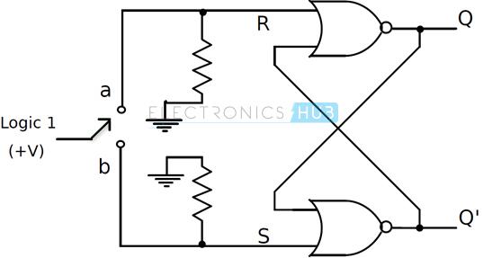 nand gate circuit using pull up resistors
