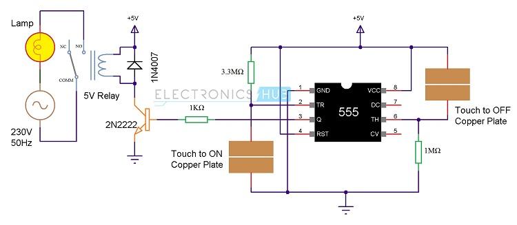 Touch Switch Wiring Diagram car block wiring diagram