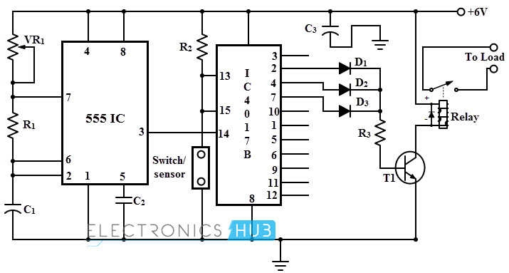 adjustable timer circuit