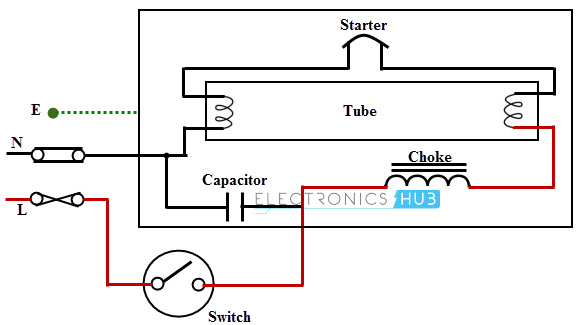 fluorescent lamp wiring diagram auto electrical wiring diagram kawasaki zg1000 fluorescent lamp wiring diagram