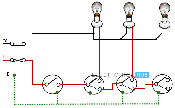 Electrical Wiring Circuits - Schema Wiring Diagram