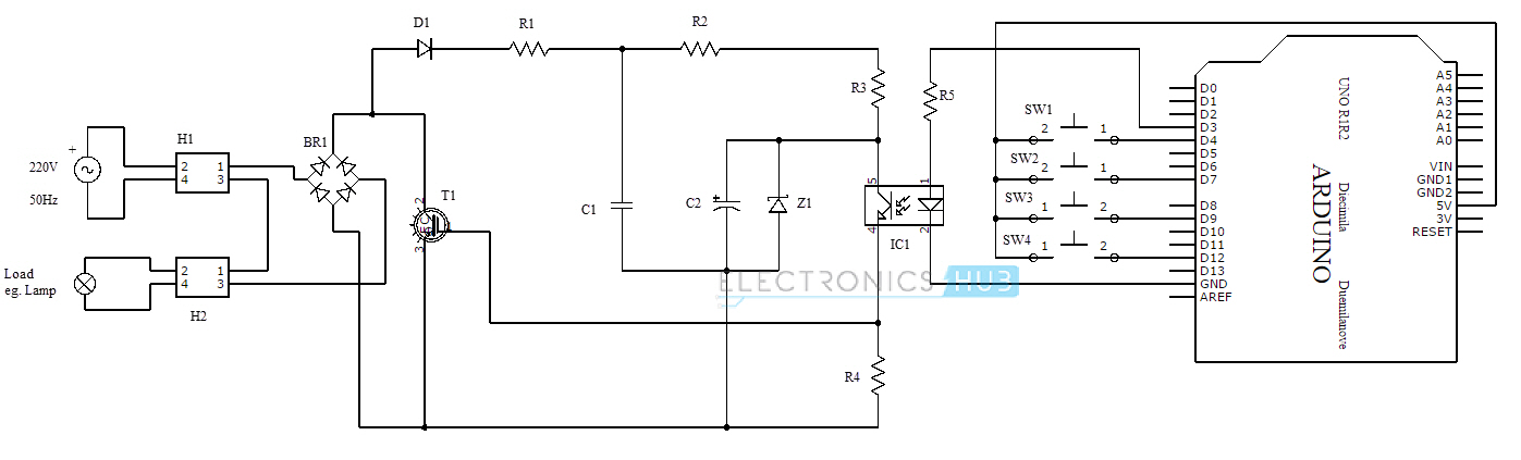 110v Light Sensor Wiring Diagram Pwm Based Ac Power Control Using Mosfet Igbt