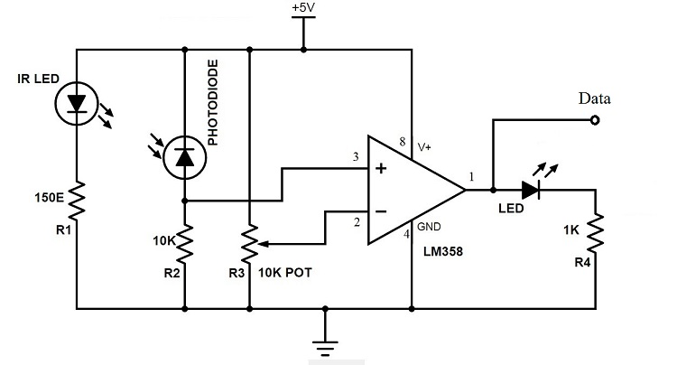 receiver circuit wiring diagram