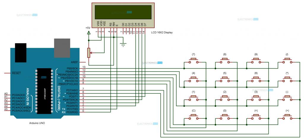 circuit diagram arduino