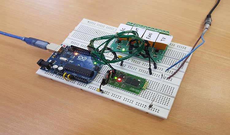diy voice activated home automation
