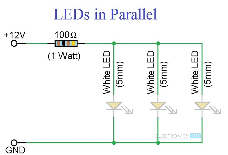 Led Wiring Diagram 3 Wiring Diagram