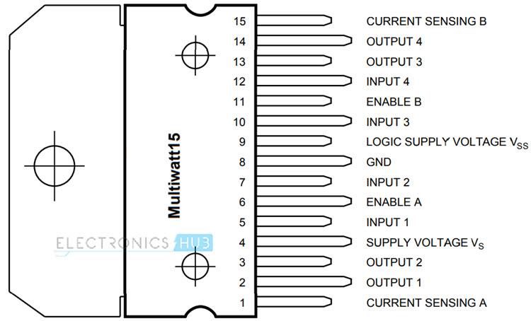 Arduino DC Motor Control using L298N Motor Driver - PWM H-Bridge
