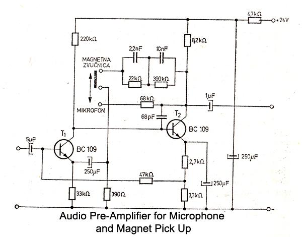 mic preamp schematic audio preamp audio preamplifier balanced