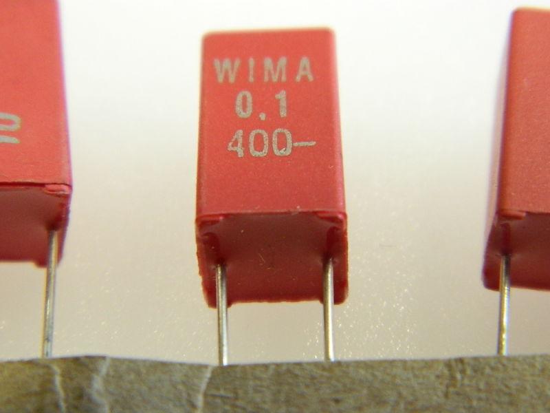 01uf 400v Capacitor Wima Mks Polyester N10pcs