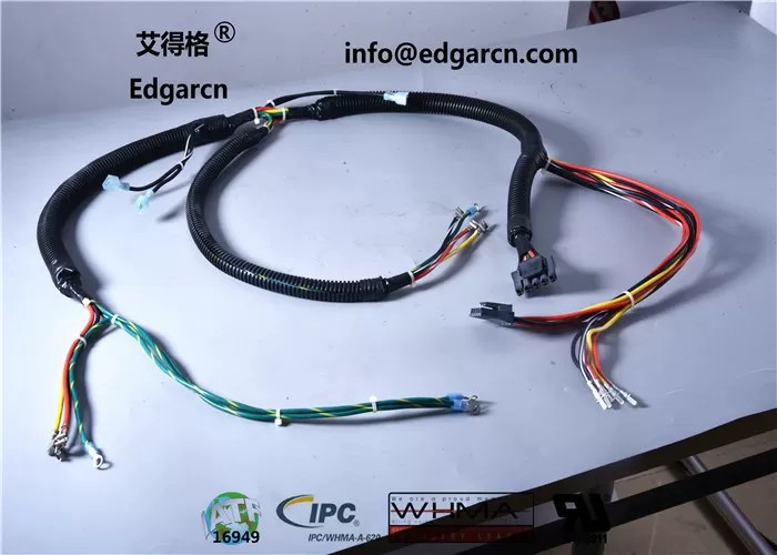 Jamma Game Machine Harness Oem , Pvc Material Custom Cable Assemblies