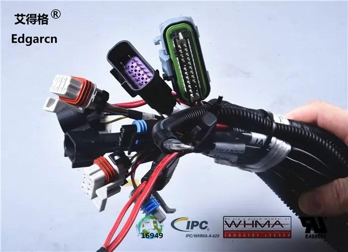 Customized Universal Automotive Wiring Harness With Whma / Ipc620 Ul