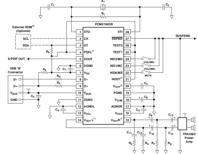 schematic usb power chargers